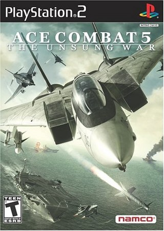 بازی Ace Combat 5 : The Unsung War برای PS2