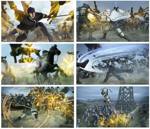 بازی Arslan The Warriors of Legend