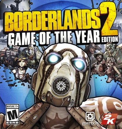 بازی کامپیوتر Borderlands 2 Game of the Year Edition
