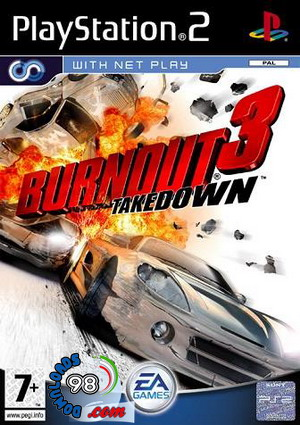 بازی Burnout 3: Takedown برای PS2