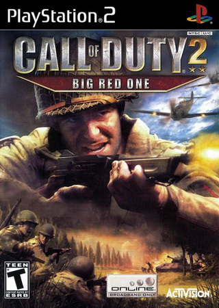 بازی Call of Duty 2: Big Red One برای PS2