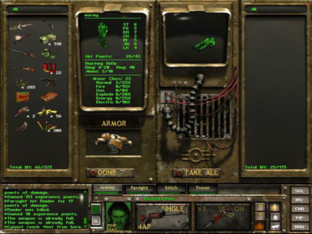 بازی استراتژیک Fallout Tactics: Brotherhood of Steel