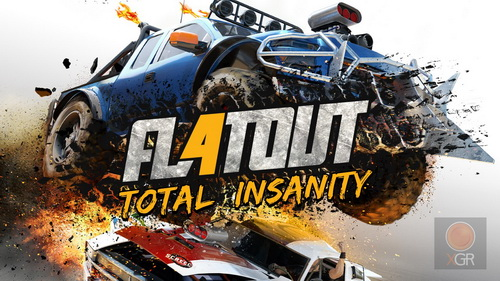 بازی کامپیوتر FlatOut 4: Total Insanity + Free Multiplayer