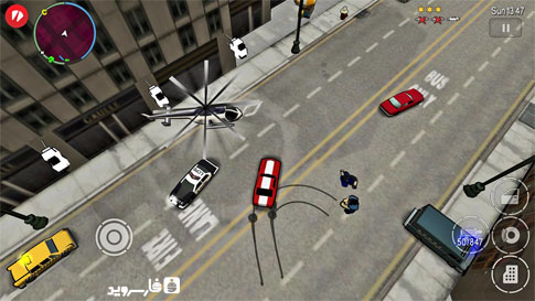 بازی اندروید Grand Theft Auto: Chinatown Wars v1.01 + Mod