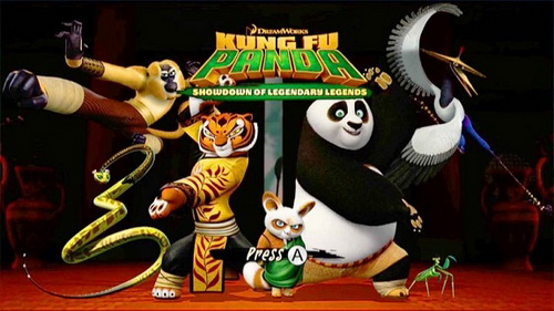 بازی Kung Fu Panda Showdown of Legendary Legends