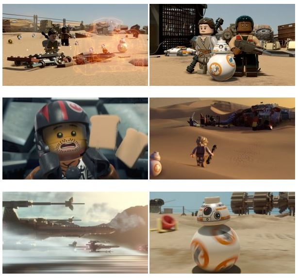 بازی کامپیوتر LEGO STAR WARS The Force Awakens