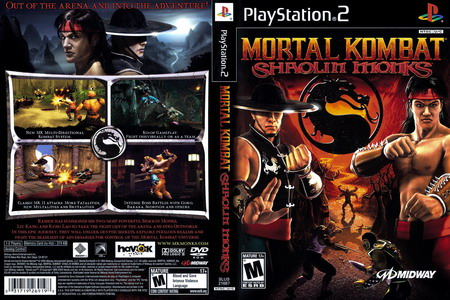بازی Mortal Kombat Shaolin Monks برای PS2