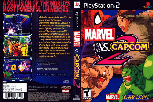 بازی Marvel vs. Capcom 2: New Age of Heroes