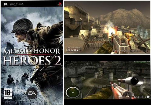 بازی Medal of Honor: Heroes 2 برای PSP