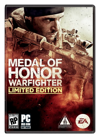 بازی کامپیوتر Medal of Honor Warfighter Limited Edition