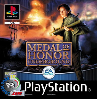 بازی Medal of Honor: Underground برای PS1