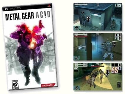 بازی Metal Gear Ac!d