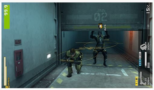 بازی Metal Gear Solid Peace Walker