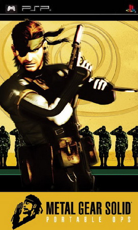 بازی Metal Gear Solid Portable Ops برای PSP