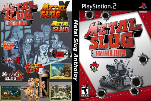 بازی Metal Slug Anthology برای PS2