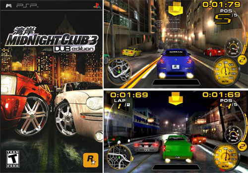 Midnight Club 3 for PSP