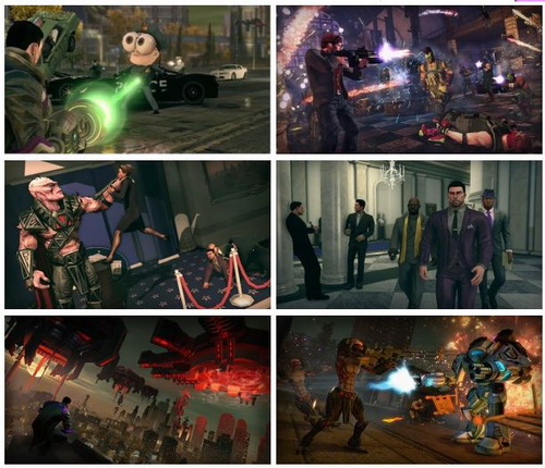 بازی Saints Row IV Game of The Century Edition