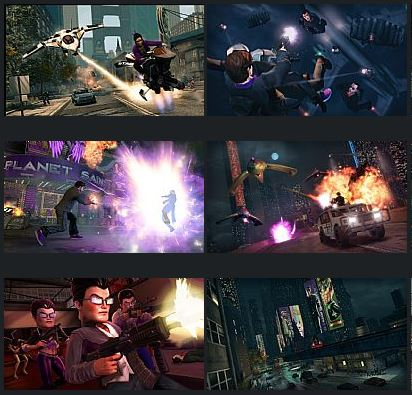 بازی Saints Row The Third - The Full Package