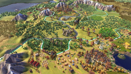 بازی کامپیوتر Sid Meiers Civilization VI