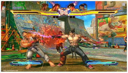 بازی Street Fighter X Tekken