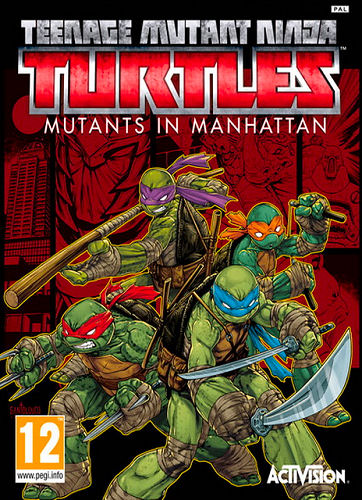 بازی کامپیوتر Teenage Mutant Ninja Turtles Mutants in Manhattan