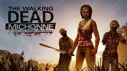 بازی کامپیوتر The Walking Dead Michonne