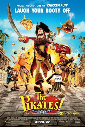 انیمیشن The Pirates! Band of Misfits