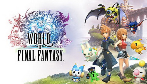 بازی کامپیوتر World of Final Fantasy: Day One Edition