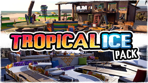 بازی کامپیوتر Table Top Racing World Tour Tropical Ice
