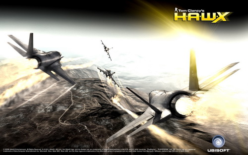 بازی Tom Clancy's H.A.W.X 1